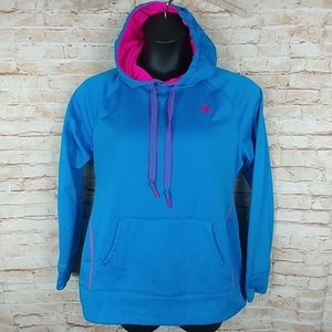 Champion Pullover hoodie Blue Fleece lined L